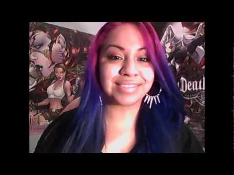 splat hair dye lavender blue aqua on long hair youtube