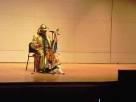 Amazing Mongolian Throat Singing