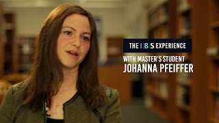 The IBS Experience with Johanna Pfeiffer