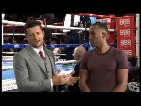 James DeGale Tells Froch 'I Want The Cobra'