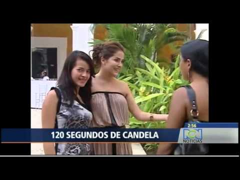 La actriz colombiana Danna García Video 2014 09 30