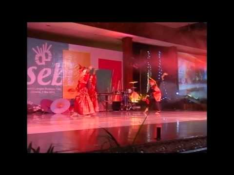 OSEBI 2013 - Juara 2 Tari Kreasi Nusantara (TARI RAMPAK INDANG - SD ISLAM RAUDHATUL JANNAH)