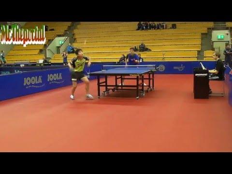 Table Tennis Safir Open 2016 - Tomokazu Harimoto Vs Daniele Pinto -