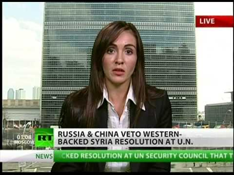 Syria sanctions vetoed during UN vote