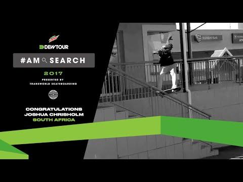 2017 Am Search South Africa Winner | Joshua Chisholm