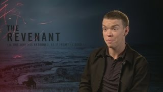 The Revenant: Will Poulter talks DiCaprio & beard envy