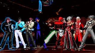 KOF Mugen Kyo Team VS Súper Blood Team