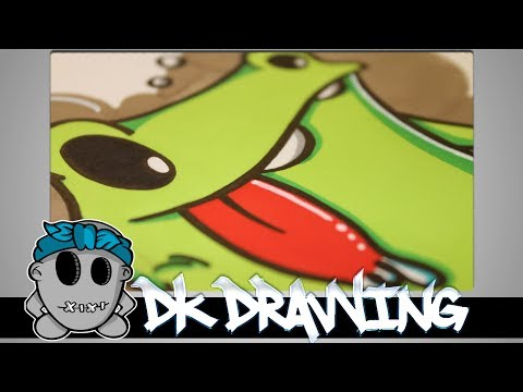 graffiti tutorial for beginners how to draw a simple graffiti. Black Bedroom Furniture Sets. Home Design Ideas