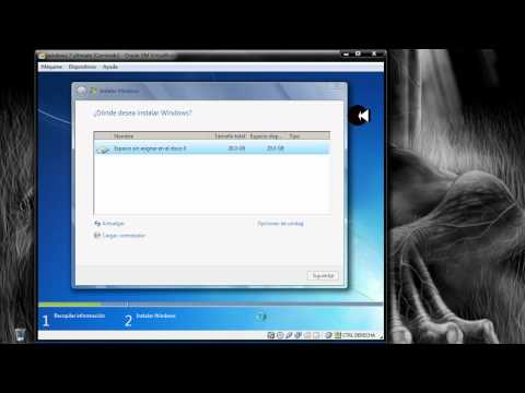 VirtualBox - Instalar windows 7 en virtualbox