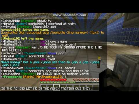Minecraft 1.3.2 Server Cracked PARKOUR!!!