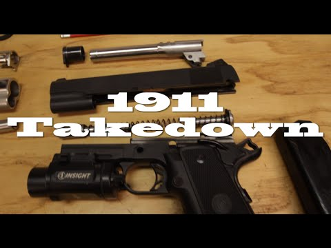 1911 teardown