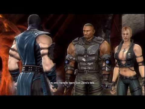 Mortal Kombat 9 - Jax Loses Arms