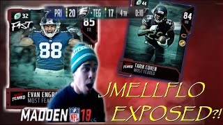 JMELLFLO EXPOSED?! Playing THE EXPOSE GOD!! Madden18 Ultimate Team Gameplay