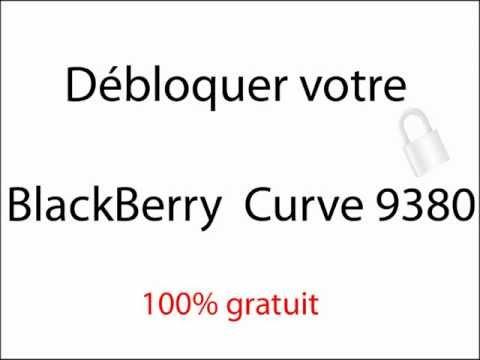 Débloquer gratuitement votre blackberry Curve 9380