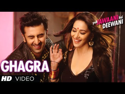 Ghagra Yeh Jawaani Hai Deewani Latest Full Video Song   Madhuri...