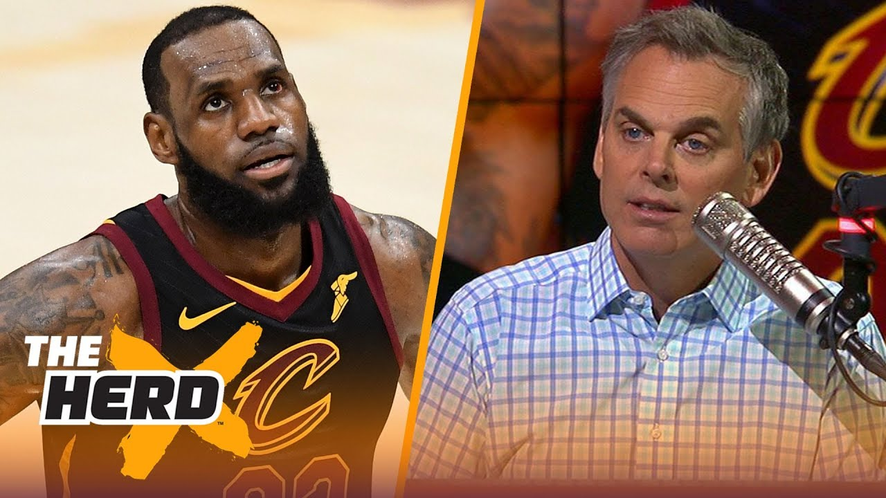 Colin Cowherd on every rumor about LeBron James leaving Cleveland | NBA | THE HERD