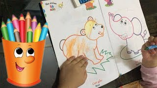 Baby Drawing Color For Kids | Oc Vlog