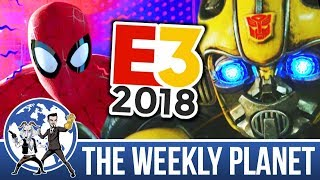 Bumblebee, Spiderverse, Oceans 8 & E3 - The Weekly Planet Podcast