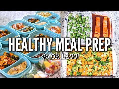 HEALTHY & BUDGET FRIENDLY MEAL PREP IDEAS 2018! | Aysha Abdul