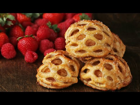 Puff Pastry Decorations 4 Ways