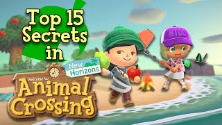 Top 15 Secrets in Animal Crossing: New Horizons
