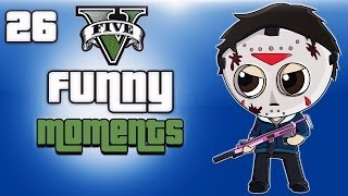 GTA 5 Online Funny Moments Ep. 26 (Playing with subscribers)