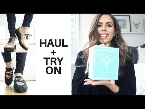 Clothing & Shoes Haul + TRY ON (Steve Madden + Stella Adidas + Zara SALE + H&M + Urban Outfitters)