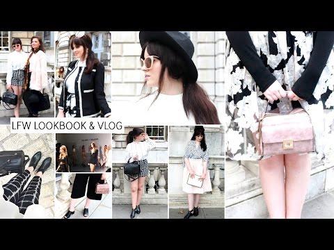 London Fashion Week Lookbook & Vlog | LFWSS15 | Becca Rose