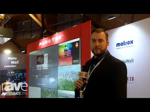 Integrate 2016: Matrox Graphics and Panotek Partner for Video Wall Controllers