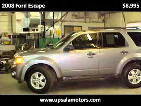 2008 Ford Escape Used Cars St Cloud Mn Youtube