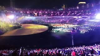 Opening asian games 2018 via valen meraih bintang