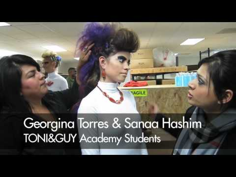TONI&GUY HAIRDRESSING ACADEMY: OC Fashion Showcase