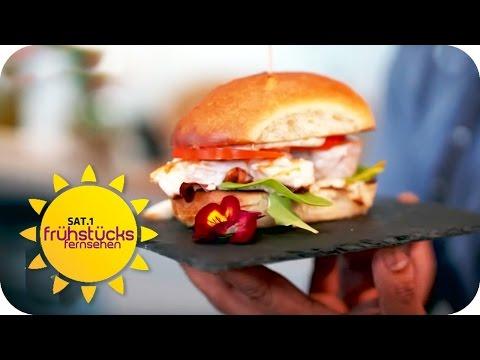 BURGER EXTREM: Kabeljau-Burger | SAT.1 Frühstücksfernsehen | TV
