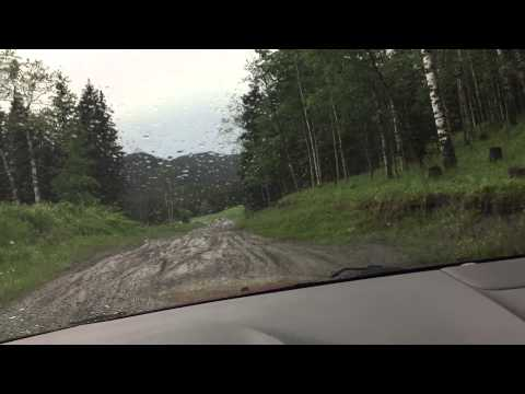 2014 Ford Edge off road fail!