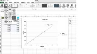 Excel scatter plot tutorial