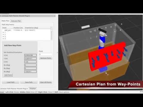 Final results GSoC 2014: Cartesian Path Planner Plug in for MoveIt