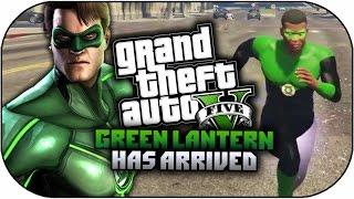 GTA 5 Mods - GREEN LANTERN SUPERHERO MOD - Powers & Skin Mod! (GTA 5 PC Mods)