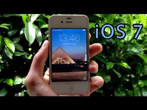 iOS 7 : Fond d'écran dynamique et panorama !