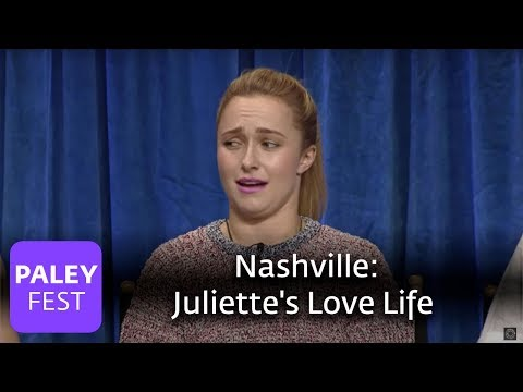 Nashville - Hayden Panettiere talks about Juliette's love life and Gunnar & Scarlett's relationship