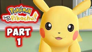 Let's Go Pikachu - Part 1 - Detective Pikachu! - Gameplay Walkthrough