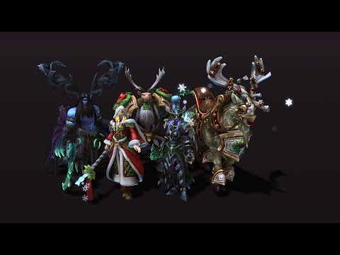 In Development: Winter Veil Skins, Mount, and Altered Fates.
