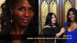 ART IN FUSION TV - Interview with Music Icon SINITTA