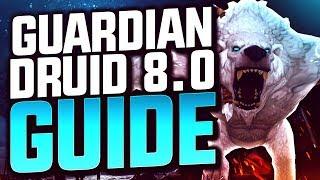 GUARDIAN DRUID GUIDE 8.0.1 BFA   World of Warcraft