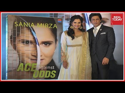 Sharukh Khan Releases Sania Mirza's Autobiography 'Ace Against Odds'