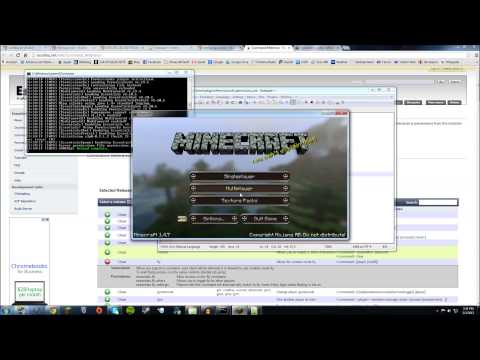 How To Set Up A Minecraft Bukkit Server & PermissionsEx/Chat Colors