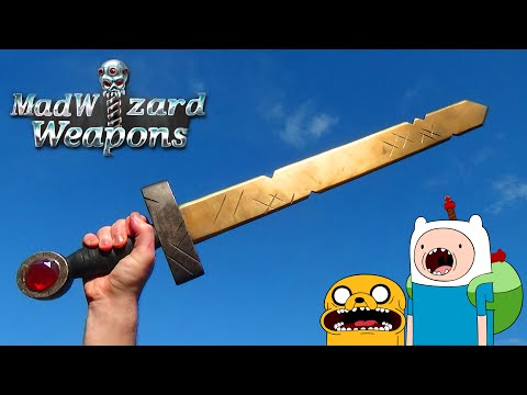 MadWizard Weapons - Finn's Golden Sword ( Adventure Time )