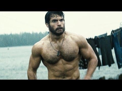 Как Генри Кавилл качался для роли Супермена