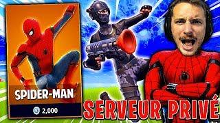 MODE DE JEU *SPIDER-MAN* sur FORTNITE BATTLE ROYALE !!!