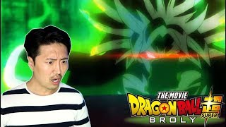 BROLY!! Dragon Ball Super Movie Comic Con Trailer REACTION!