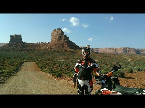 2015 KTM 690R Moab Day5 Part2 - Moki Dugway + Valley Of The Gods